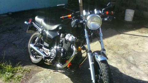 Moto Honda Custom 500 Cc