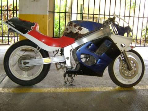 Chasis MC19 de Honda cbr 250