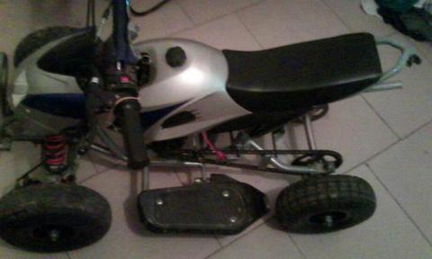 Moto Yamaha 4 Ruedas
