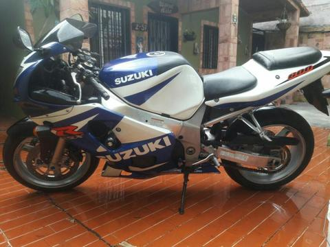 Gsx600 Suzuki Racing Cambio X Vehiculo