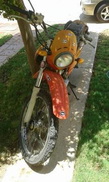Moto Enduro Marca Peace Modelo Jdb -200