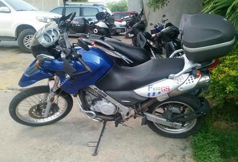 Vendo Moto Bmw 650 Dakar Gs