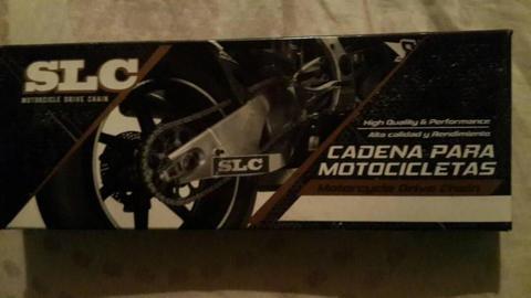 CADENA MOTO 150CC Y 200CC DOBLE REFORZADA