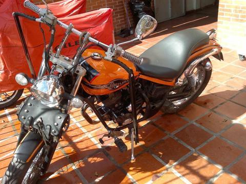 Vendo mi espectacular moto Gilera Cougar 200cc