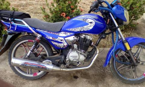 Una Moto Usada