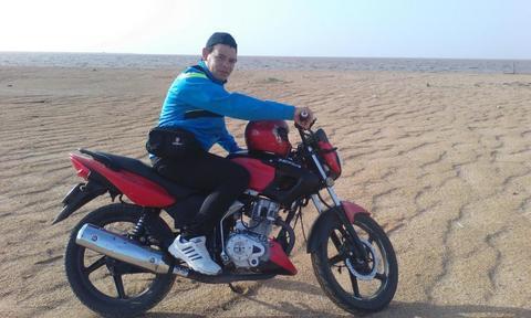 vendo mi excelente moto