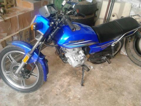 Vendo Moto 2012