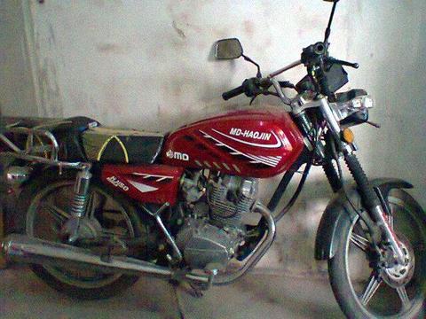 Moto MD Haojin 150 es bella