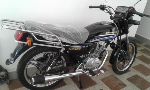 Moto Empire Horse I Negra Nueva