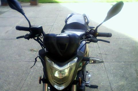 moto arsen 2 negra