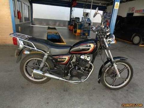 se vende moto empire owen 2012 en buen estado nunca chocado