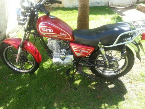Vendo Moto Condor Cauchos Nuevos Rodamie