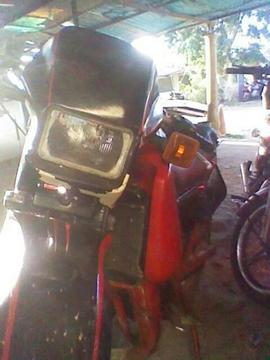 Moto Gilera 125 Enduro