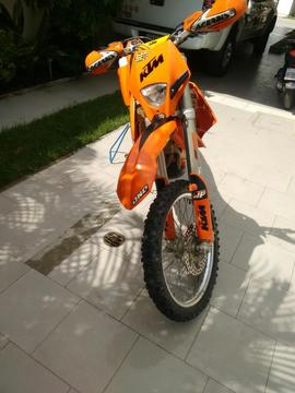 Ktm 450 Exc Impecable
