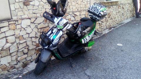Moto Bera Automatica150 en