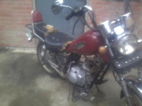 por no tener dinero para reparar vendo moto jianche