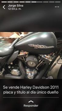 Se Vende Moto Harley 2011