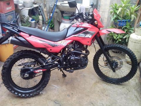 Moto marca UM, modelo DSR 200