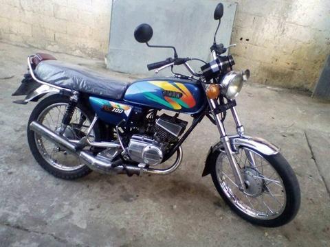 rx 100 vendo o cambio por otra moto