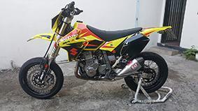 Suzuki Drz 400 super motard