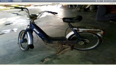 vendo moto bicicleta antigua pero original