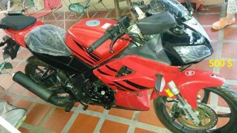 Vendo Moto Bera R1 200 2016 Nueva