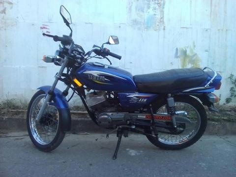 Moto Yamaha Especial 115 año 2007 a buen precio NEGOCIABLE