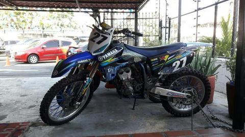 Yamaha Yzf 250 factura barras Racetech