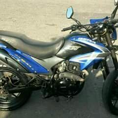 MOTO Bera DT 200 RR / 200. Año 2014