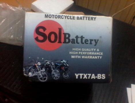 Bateria para Moto Nueva