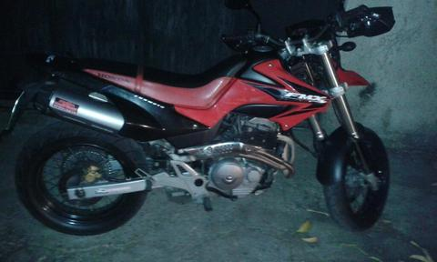 Vendo Homda Fmx 650 Super Motar 2007