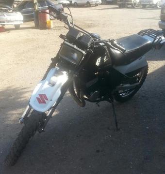 Moto Suzuki Ts 125 Año 2006