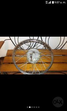 Rin de Rayos Delantero Y Trasero de Moto