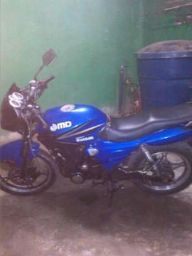 Moto MD Haojin Halcon 2012 con pocos detalles 100 operativa