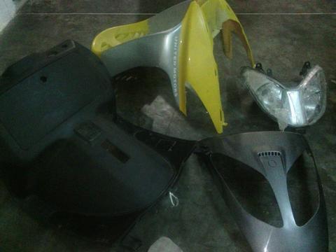 frontal de moto matris scoter