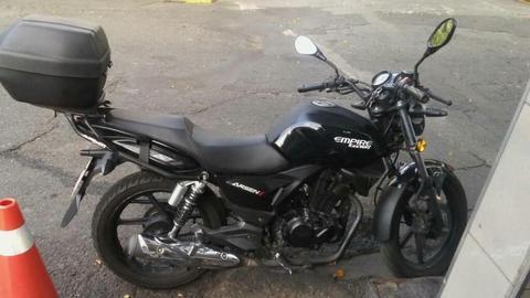 Vendo Moto Arsen 2 Negra Como Nueva