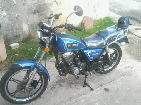 VENDO MI MOTO OWEN 2011 NEGOCIABLE