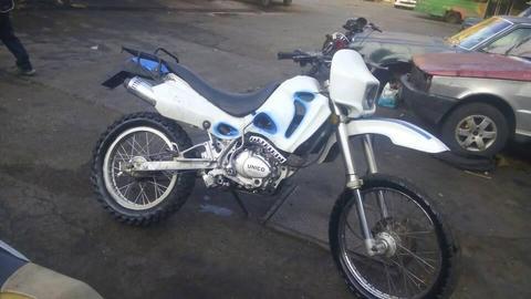 MOTO UNICO 250 RAPTOR
