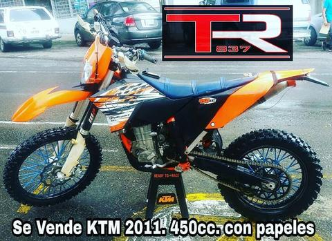 Ktm 2011 450cc Negociable