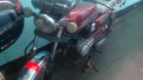Barata Rx 100 con Motor 115 5velocidades